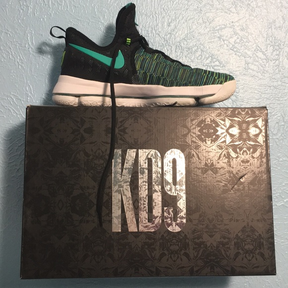 Nike Shoes - Green-Blue KD9 s 8899d0039
